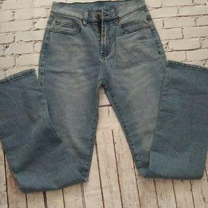 DG2 by Diane Gilman Blue 5 Pocket Jeans SZ